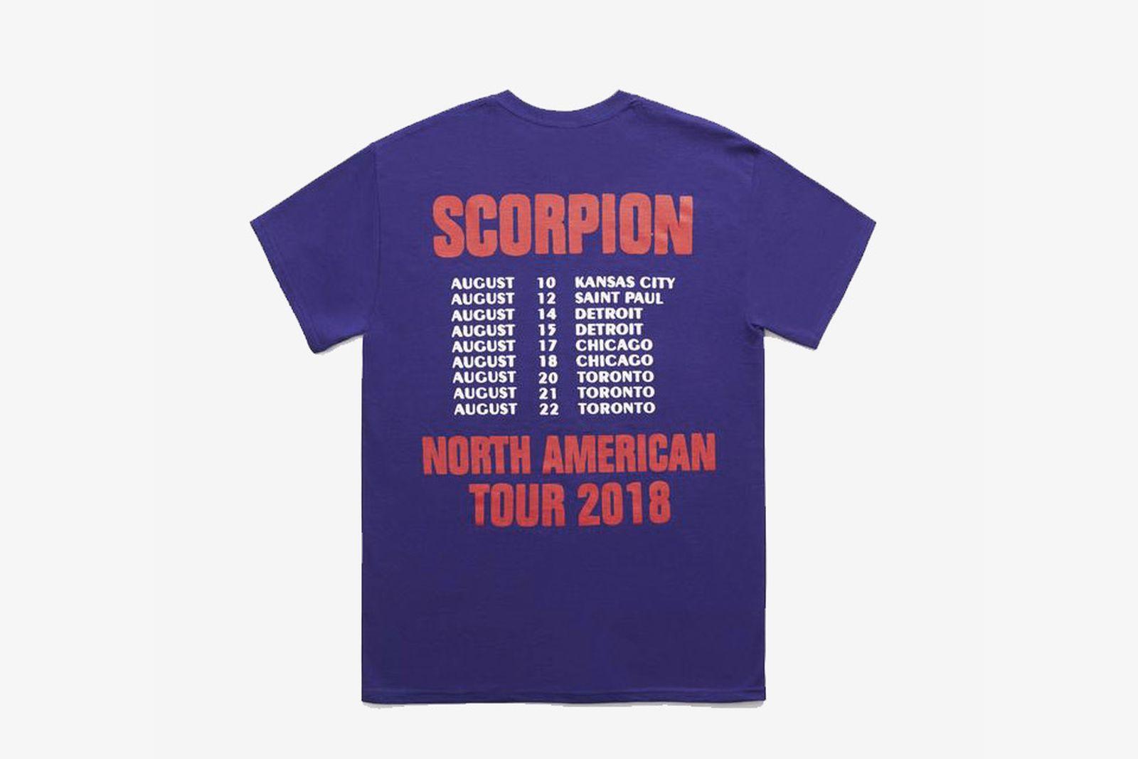 drake tour merch scorpion ASAP Ferg Aubrey and the three migos Merchandise