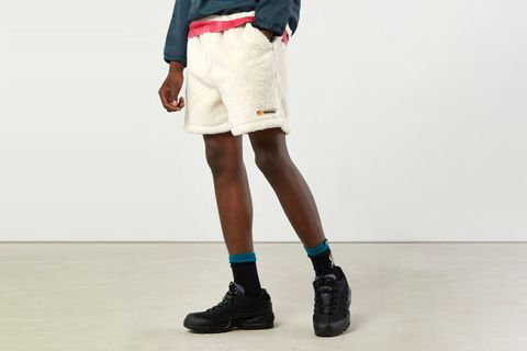 Belted Fleece Trail Short