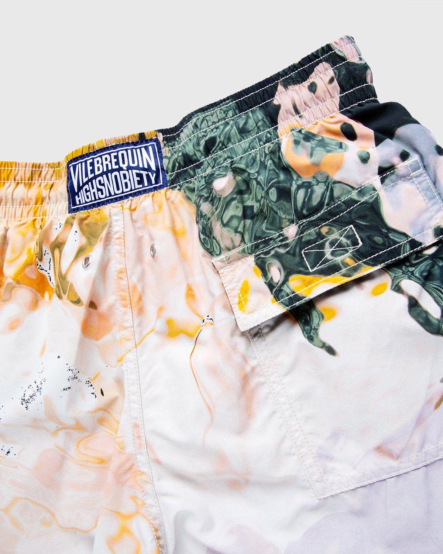 Vilebrequin x Highsnobiety — Pattern Shorts Beige - Image 5