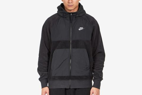 Hooded Full-Zip Fleece Jacket