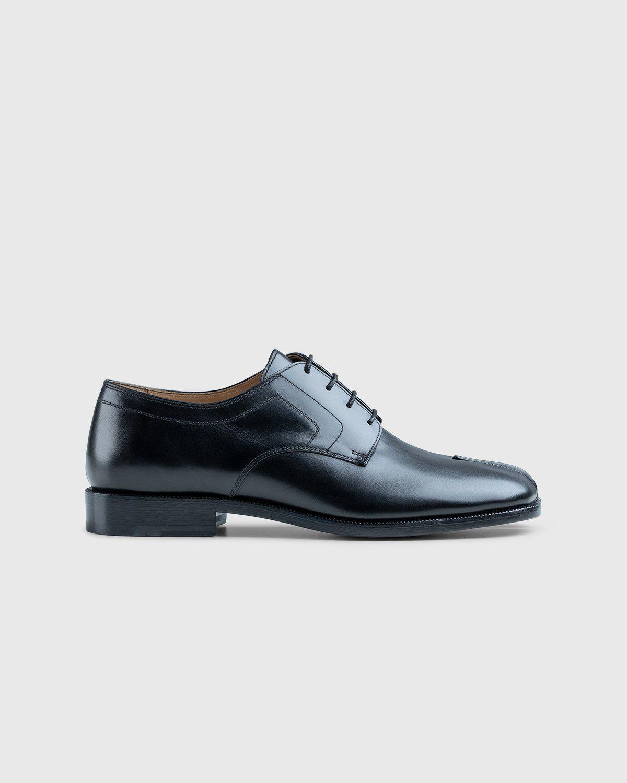 Maison Margiela – Tabi Lace-up Shoes Black - Image 1