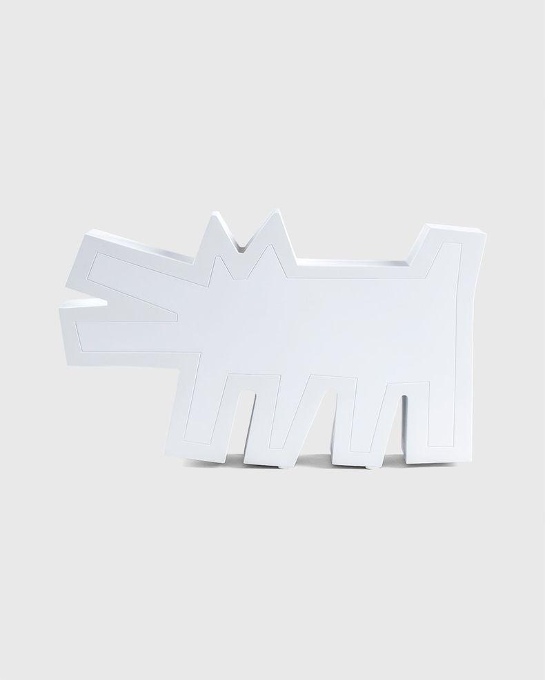 Medicom — Keith Haring Barking Dog Statue White