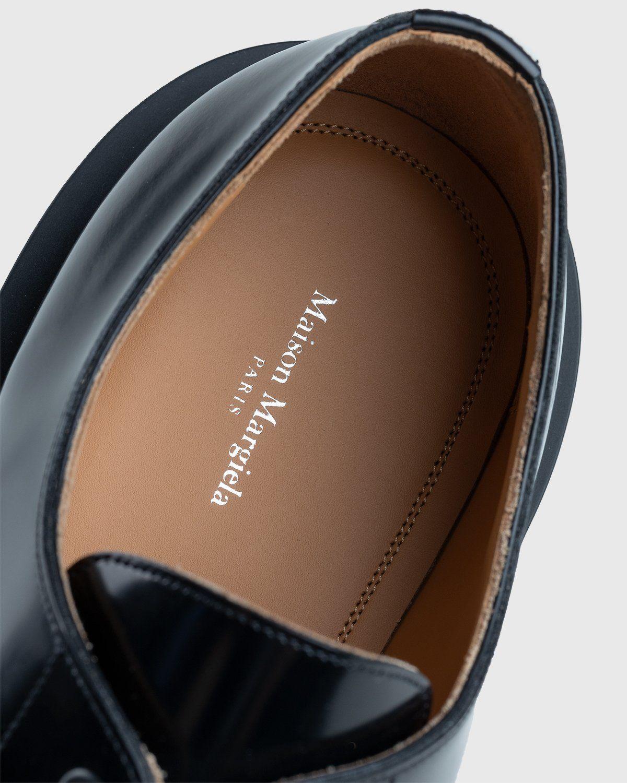 Maison Margiela – Cleated Sole Shoes Black - Image 4
