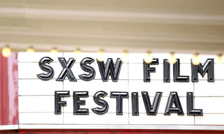 SXSW Film Festival sign