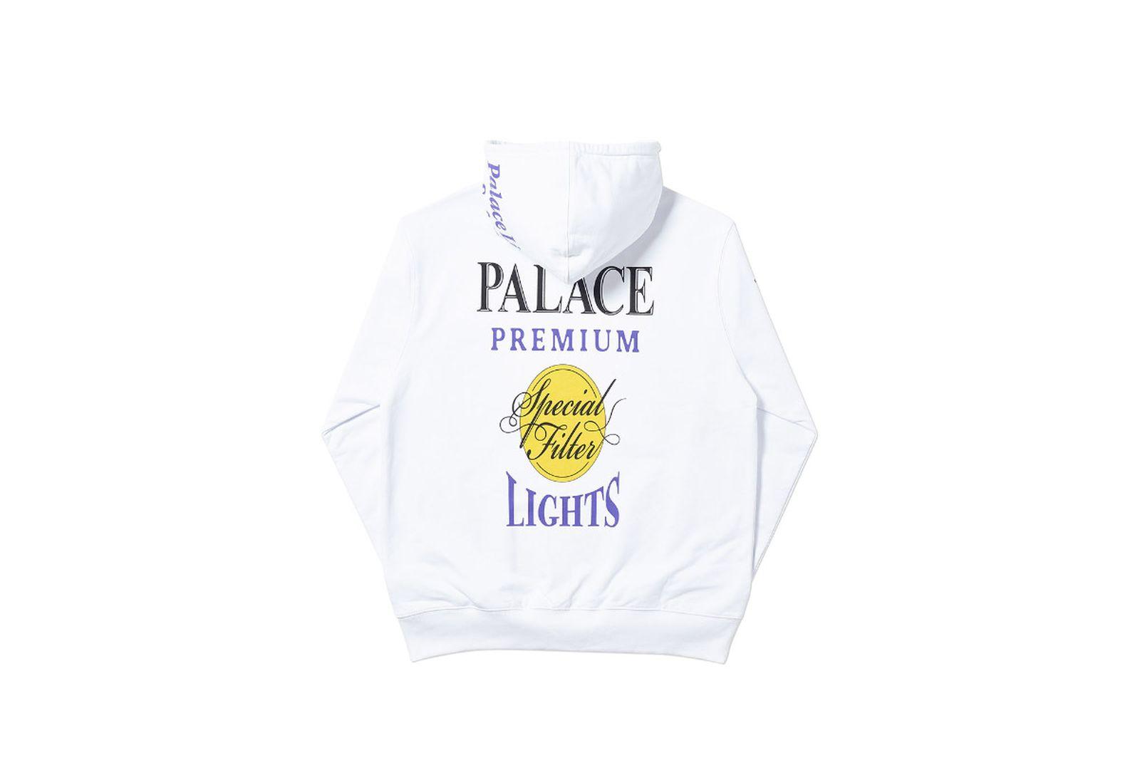 Palace 2019 Autumn Hood Blender white back