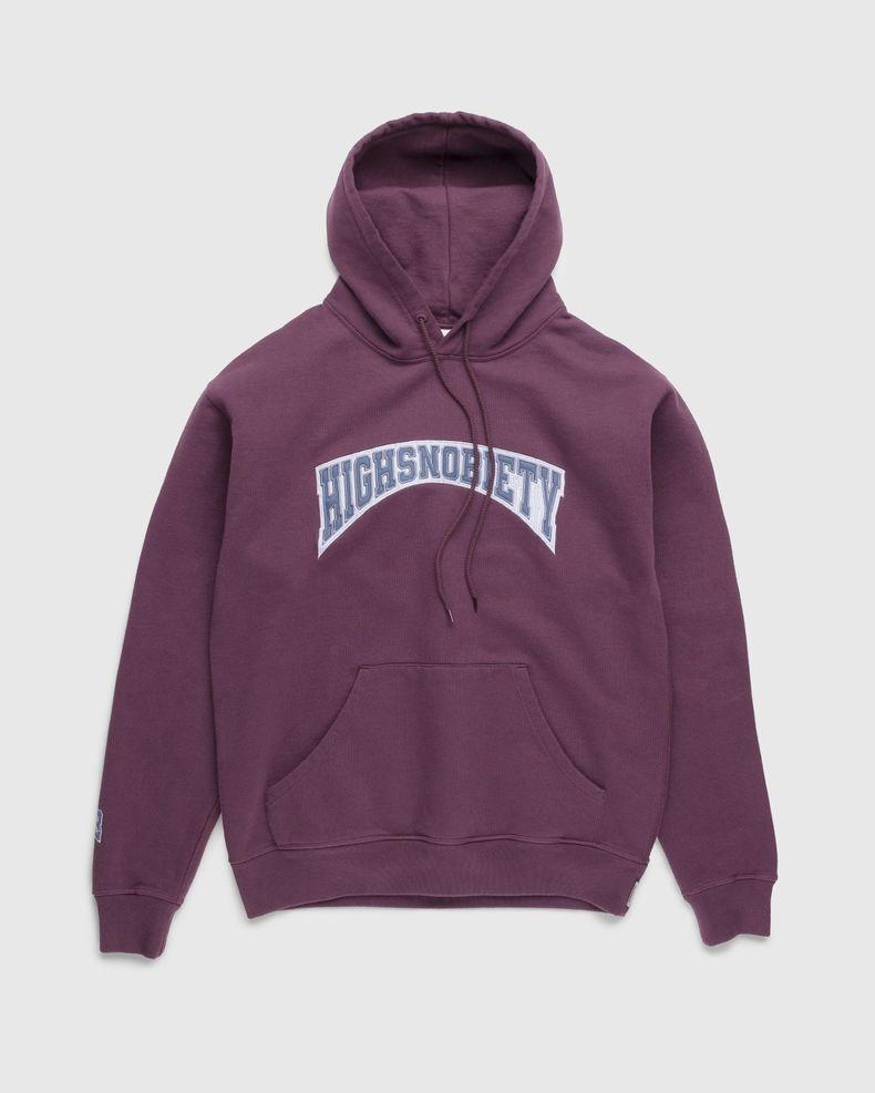 Highsnobiety – Collegiate Hoodie Purple