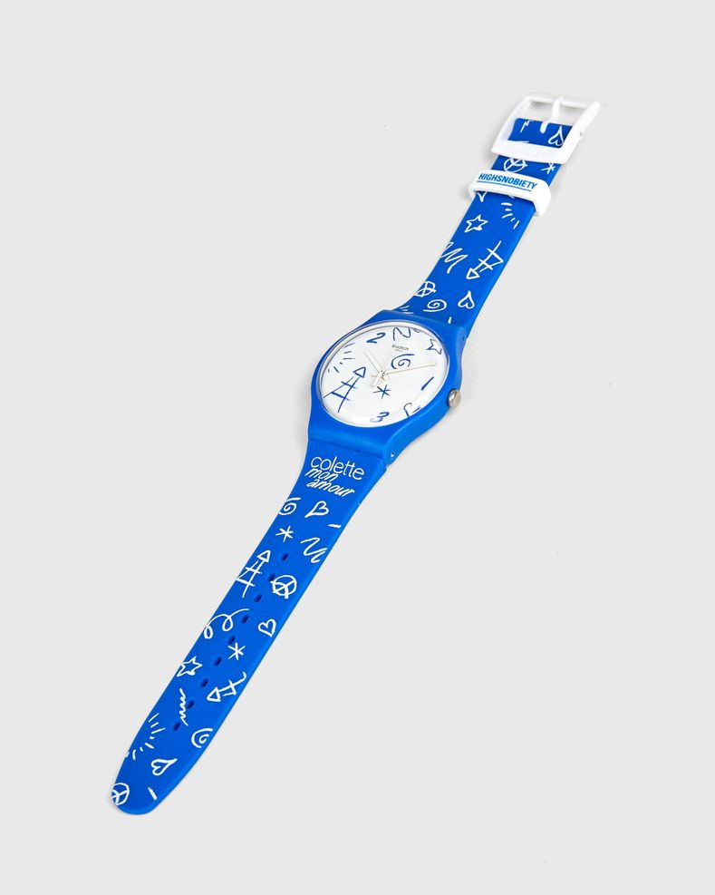 SWATCH x colette Mon Amour - Watch Blue