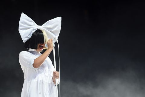 Sia performs at V Festival at Hylands Park
