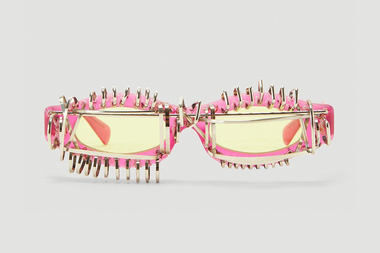 Mask Y5 Embellished Sunglasses