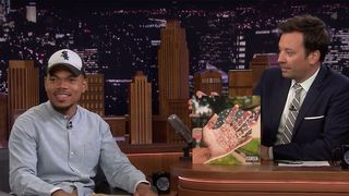 chance rapper big day jimmy fallon Chance the Rapper The Big Day
