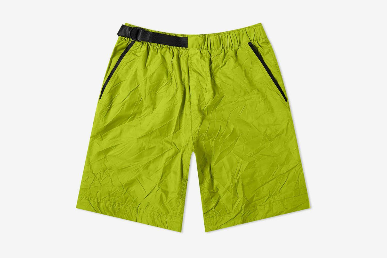 Tech Woven Crinkle Short