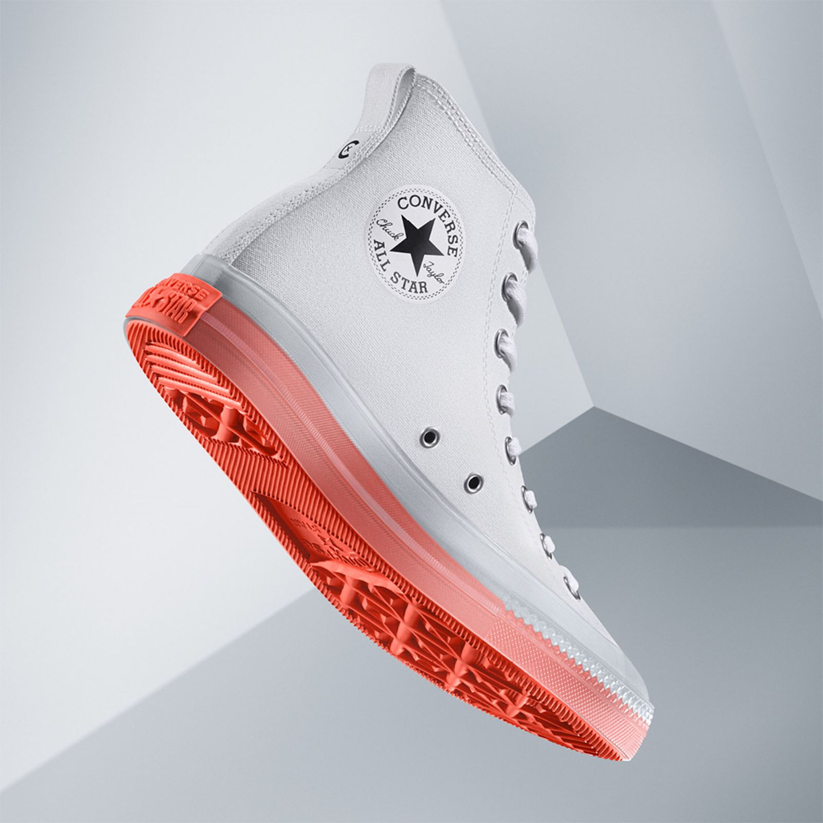 Converse Chuck Taylor All Star Light Clear Material Hi Release Info
