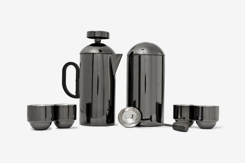 Brew Coated Cafetiere Set