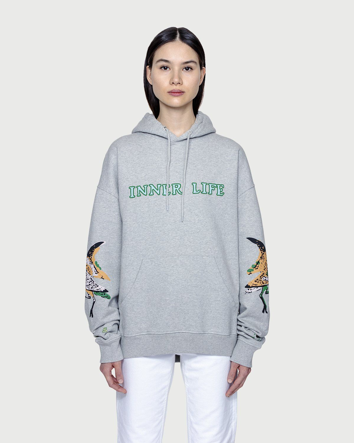 Inner Life by Highsnobiety - The Lovers Hoodie Grey - Image 3