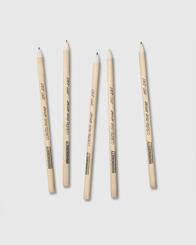 Colette Mon Amour x KAWS - Beige Pencil Case - Image 6