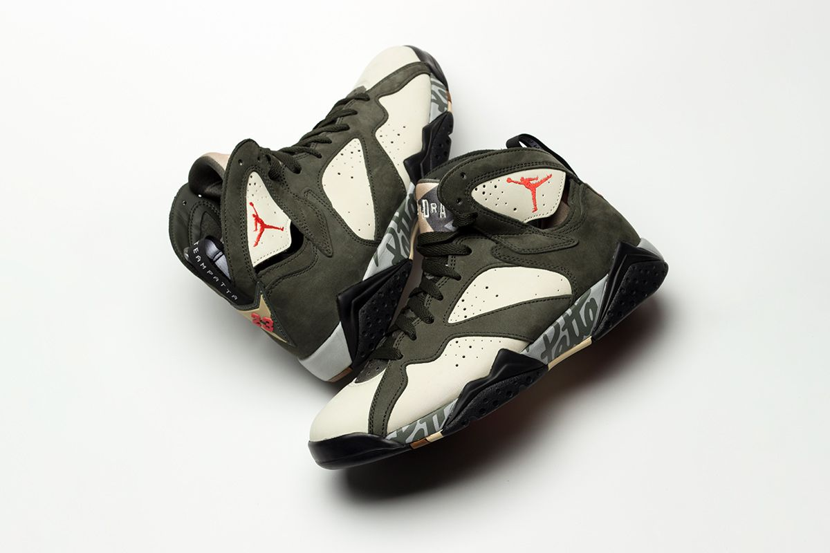 There Might Be a Second Patta x Nike Air Jordan 7 Coming