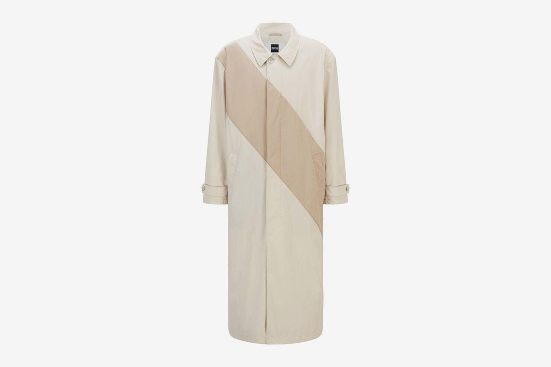 Coated-Cotton Coat