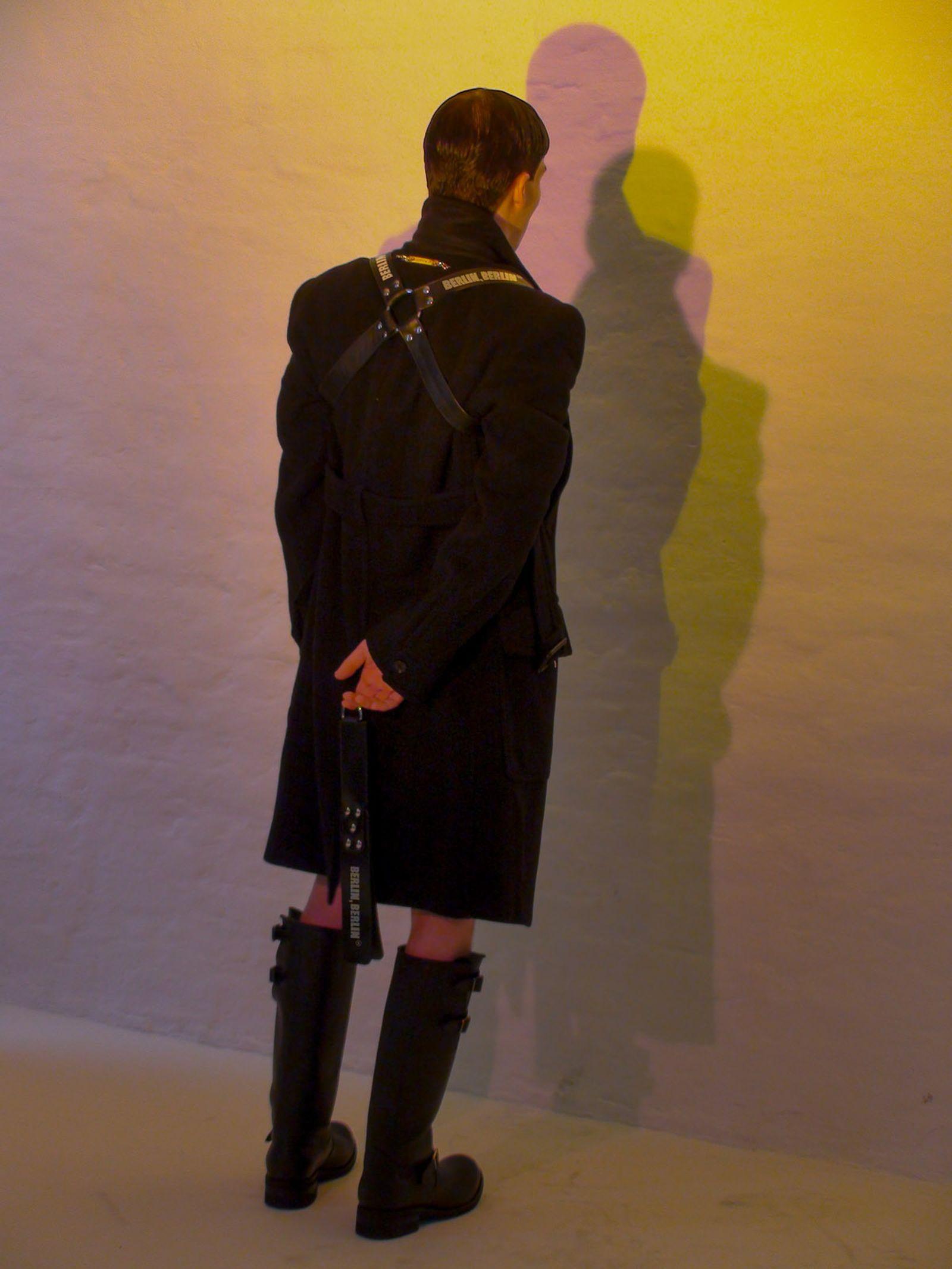Coat shorts VERSACE Harness BUTCHEREI X HIGHSNOBIETY