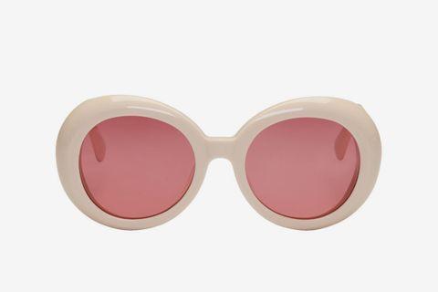 Red Pocket Sunglasses