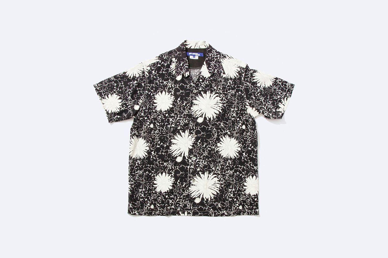 Floral Camp-Collar Shirt