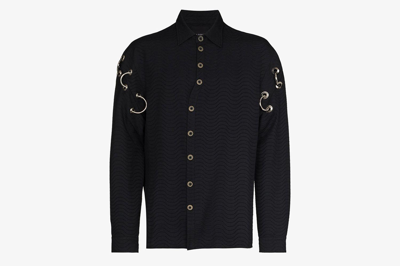 Siaka Stevens Jacquard Shirt