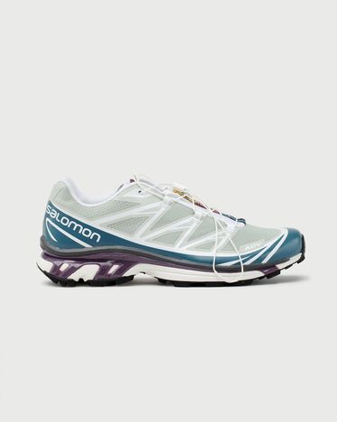 Salomon XT-6 ADV Mineral Gray/ Mallard Blue/ White