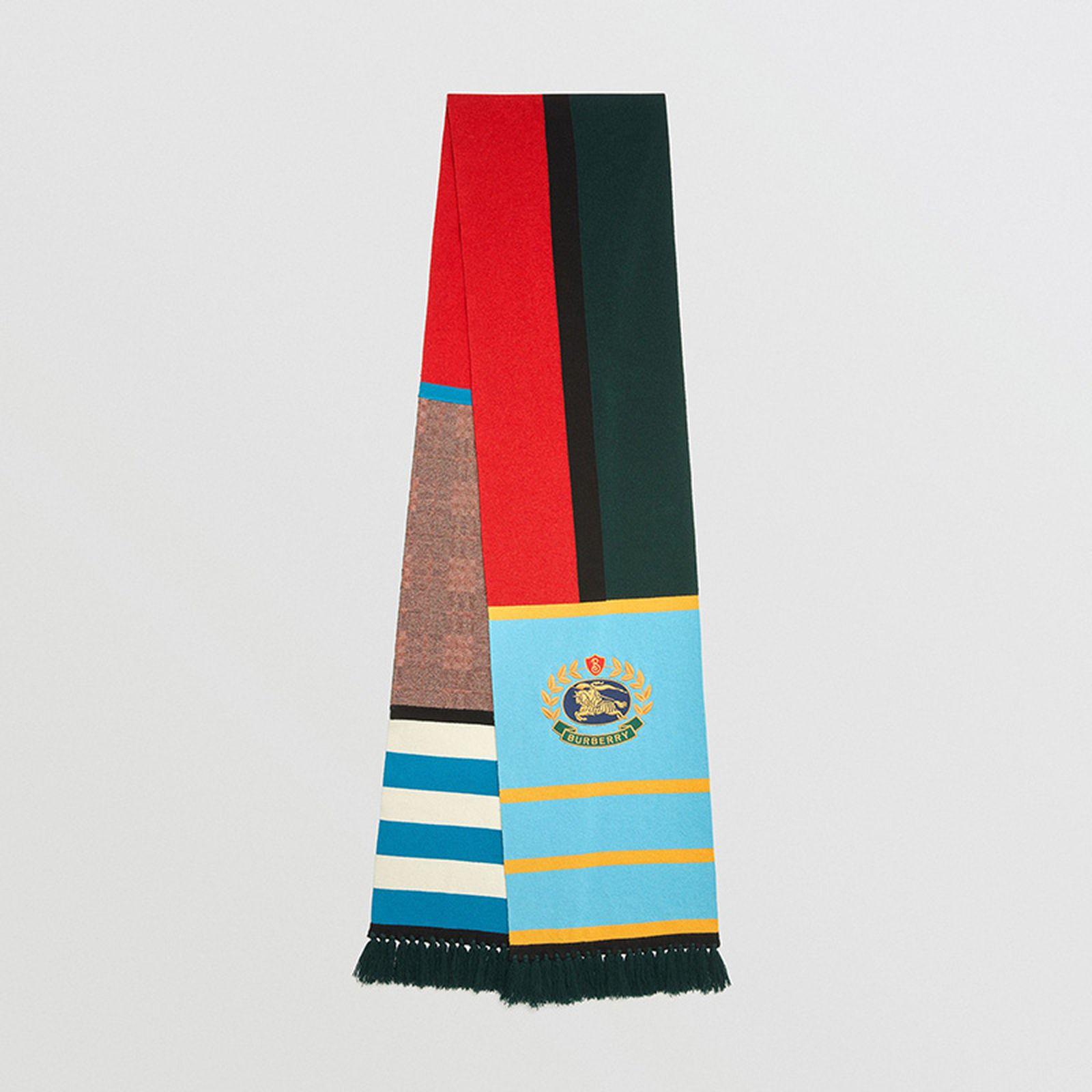 burberry color block scarf buy online