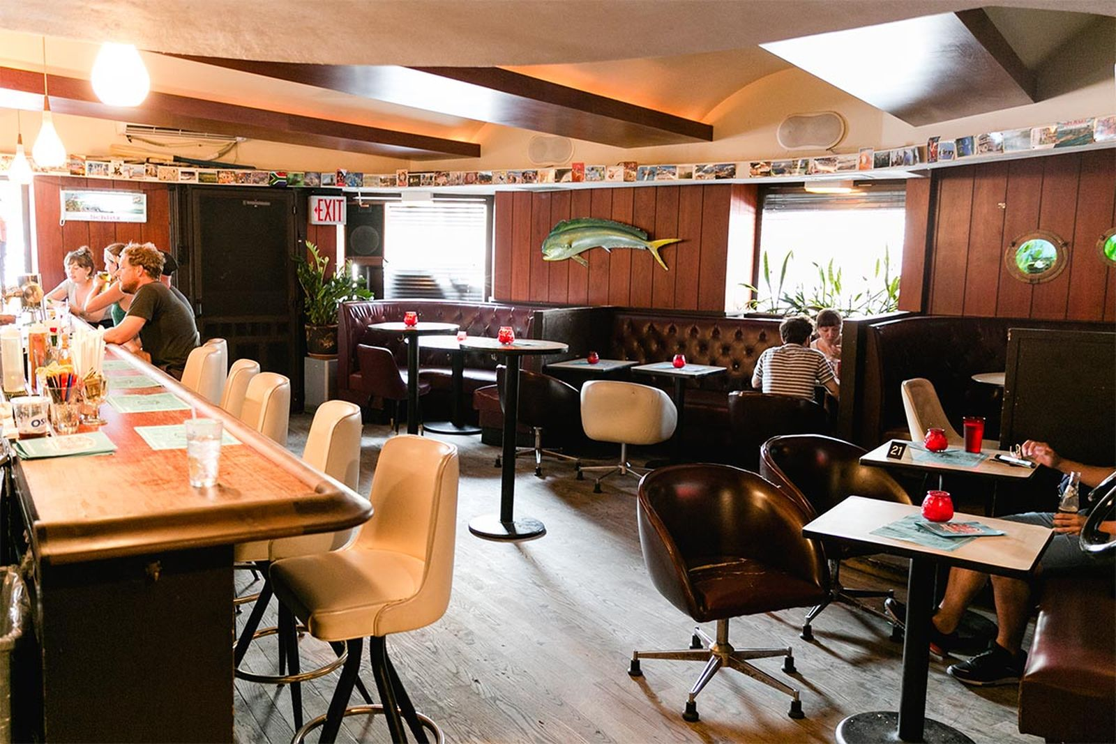 best nyc bars commodore AMEX american express platinum food & drink