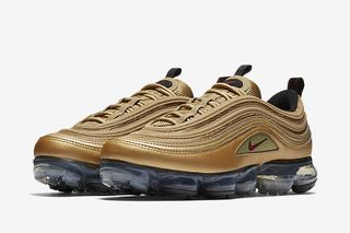 2be3dc881c59 Nike s Air VaporMax 97 Gets the Metallic Gold Treatment