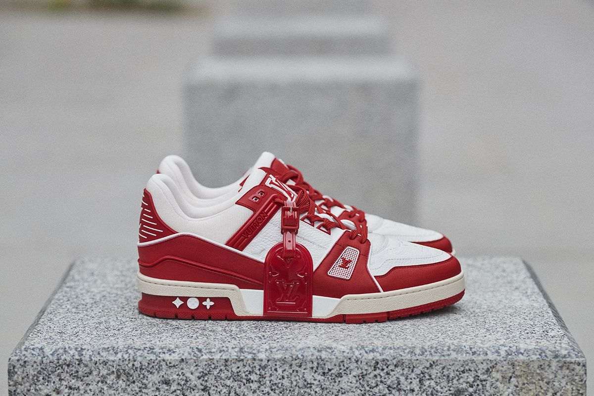 Louis Vuitton Joins the Fight to End AIDS With (RED) LV Trainer 10