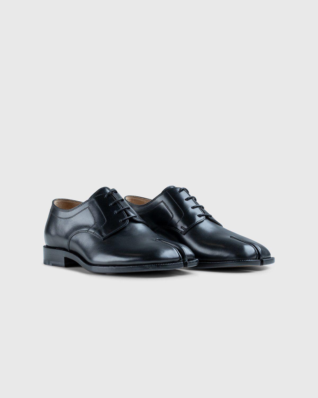 Maison Margiela – Tabi Lace-up Shoes Black - Image 2