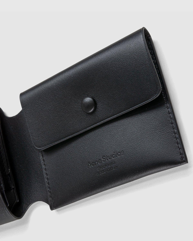 Acne Studios – Trifold Wallet Black - Image 5