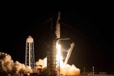spacex crew dragon launch nasa