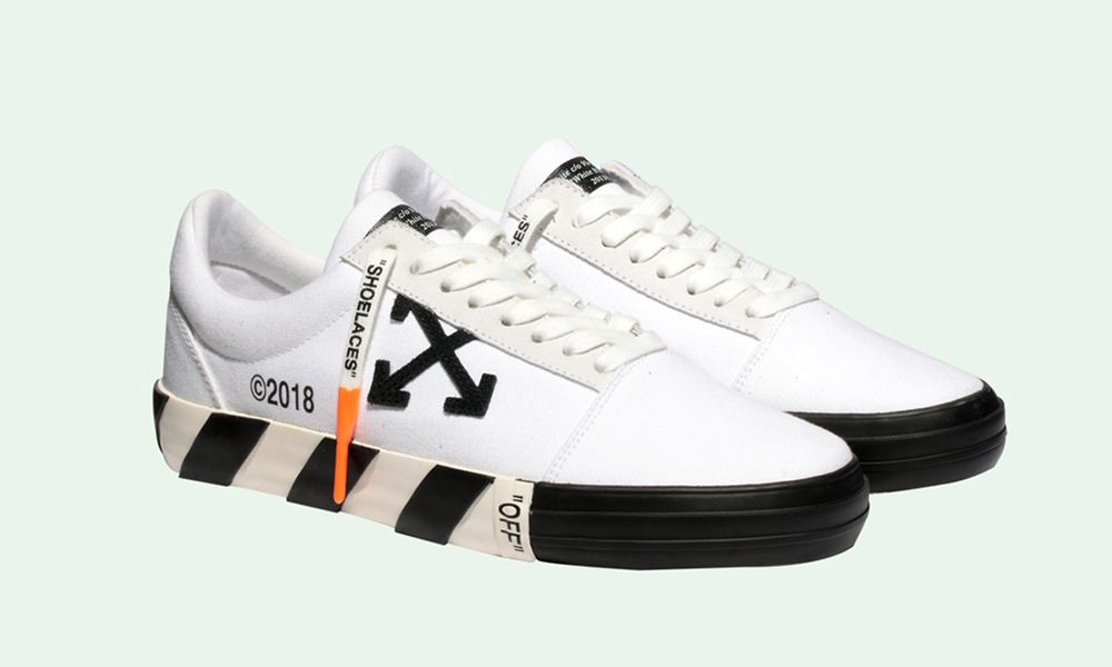 personalizadas gran descuento para zapatos elegantes These OFF-WHITE Sneakers are the Closest Thing to a Vans Collab
