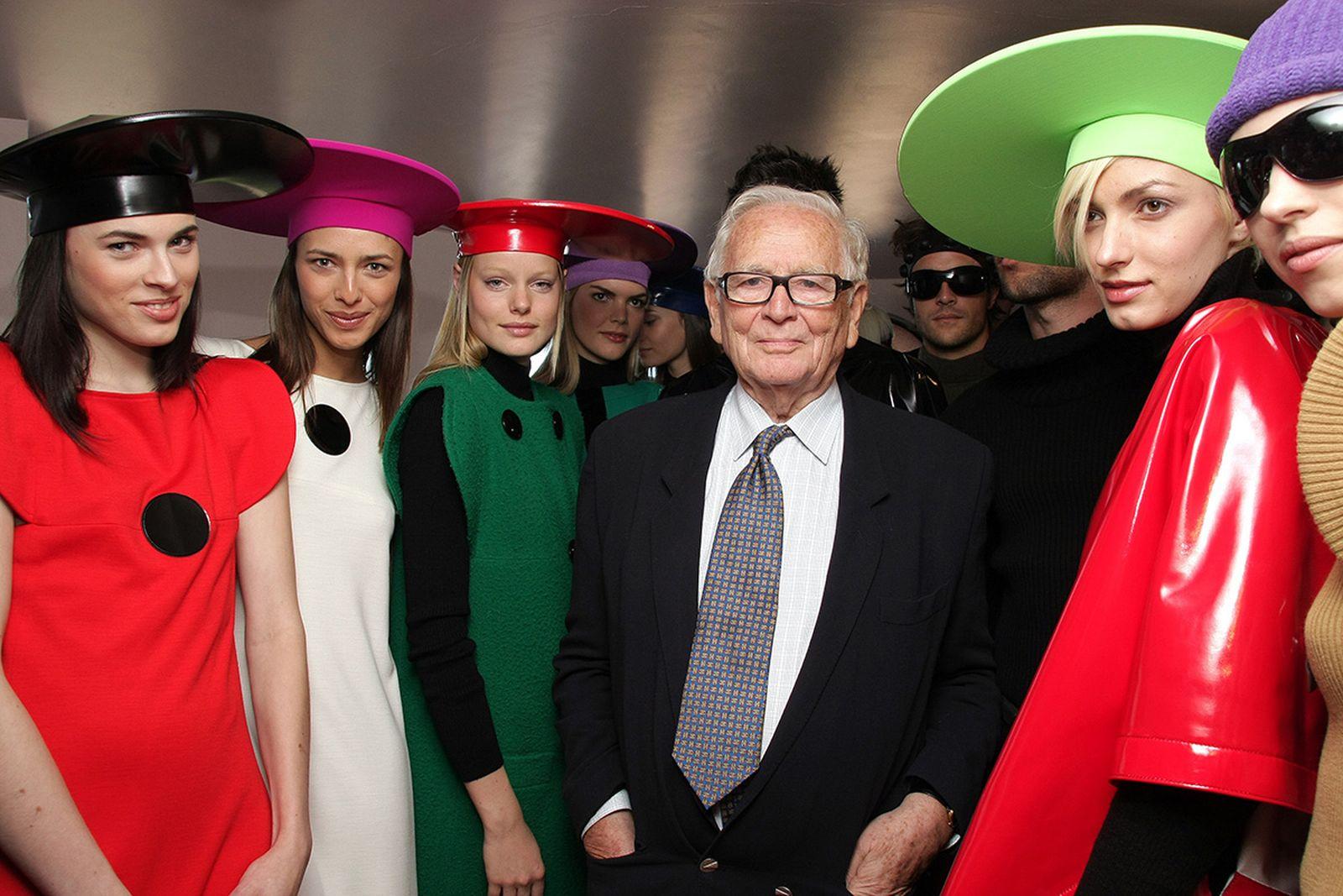 Fashion Legend Pierre Cardin Dies Aged 98