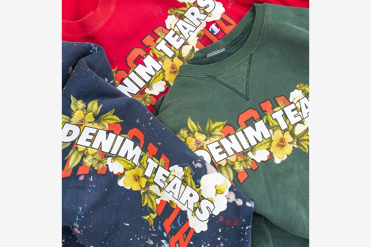 "Denim Tears's ""Hissing of Sumer Tears"" Collection Highlights a Dark Moment in American History"