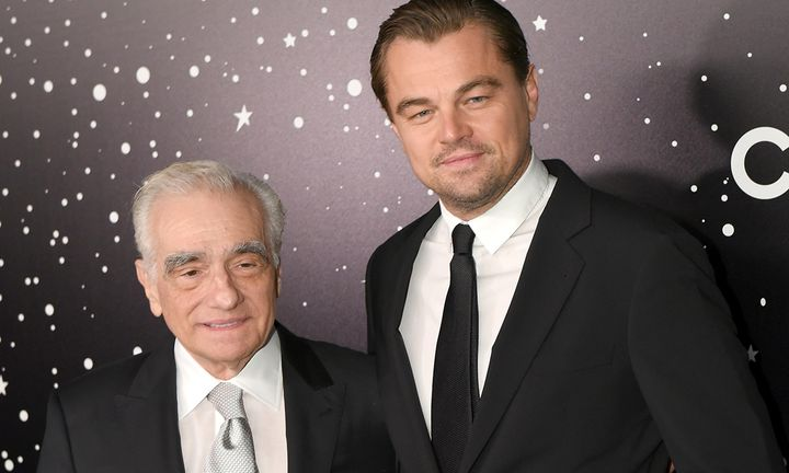 Martin Scorsese and Leonardo DiCaprio attend The Museum Of Modern Art Film Benefit