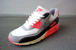 low priced 7b7e8 81bd7 nike air max 90 prm vintage infrared spring 2013 sneaker