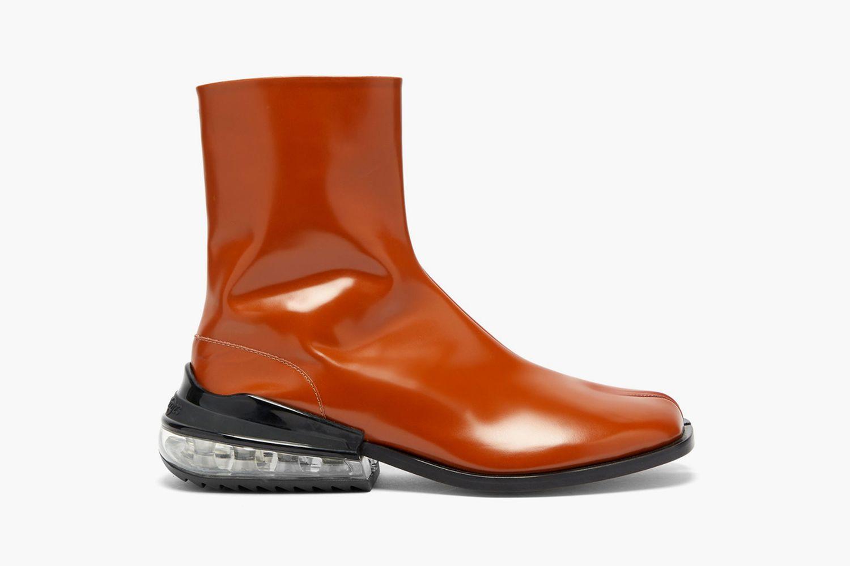 Tabi Bounce Split-Toe Leather Boots