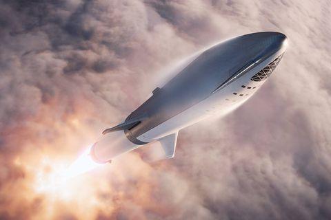 elon musk spacex big falcon rocket spacecraft