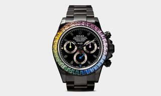 The Rolex Daytona Gets a Gorgeous Sapphire Rainbow Update From MAD Paris