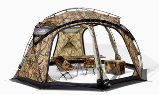 This NEIGHBORHOOD Tent Is the Ultimate Way to Flex While Camping Out for Drops