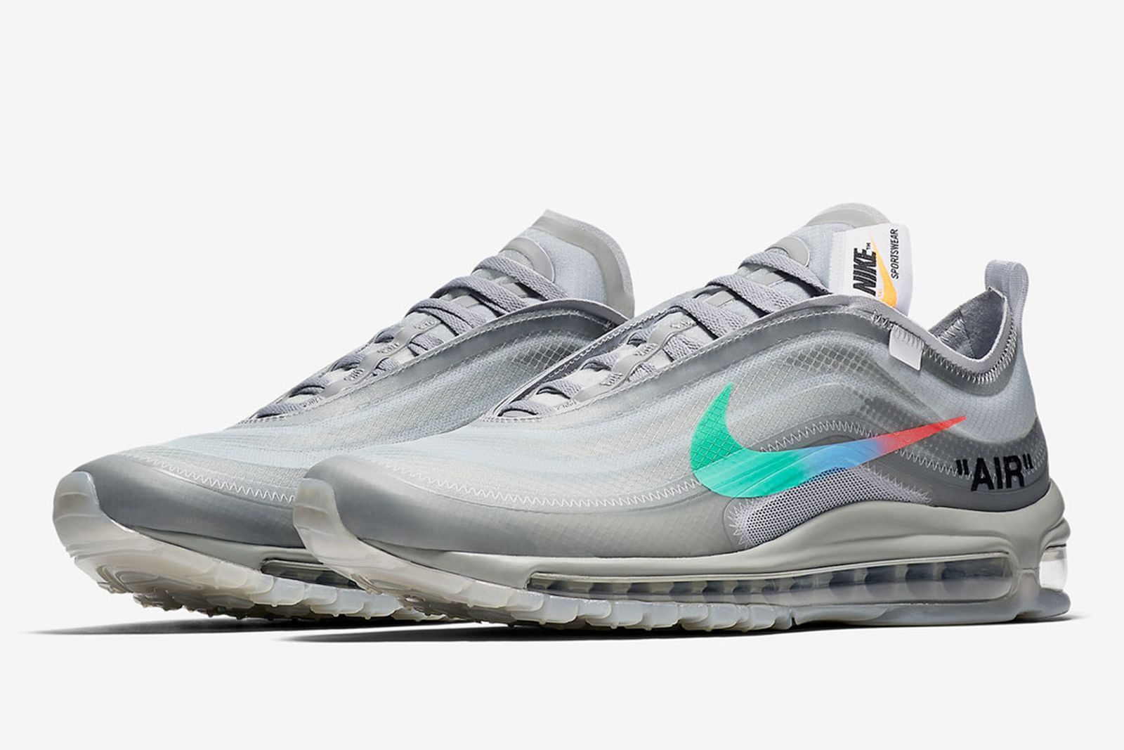 off white nike air max 97 menta release date price OFF-WHITE c/o Virgil Abloh StockX