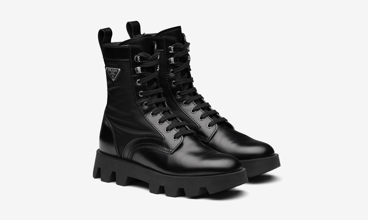 Actually, Prada Has the Best Military Boot This Winter