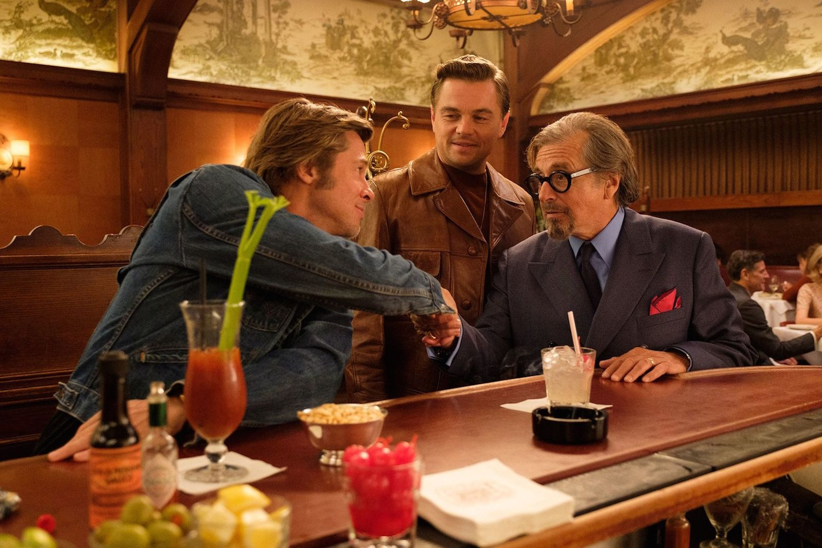 once upon a time in hollywood first look quentin tarantino