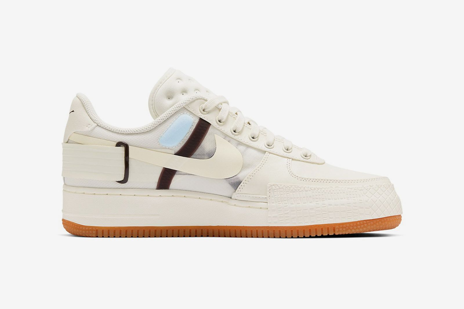 """Disponible camarera Agarrar  Nike Air Force 1 Type """"Light Ivory/Earth Brown"""": First Look & Info"""