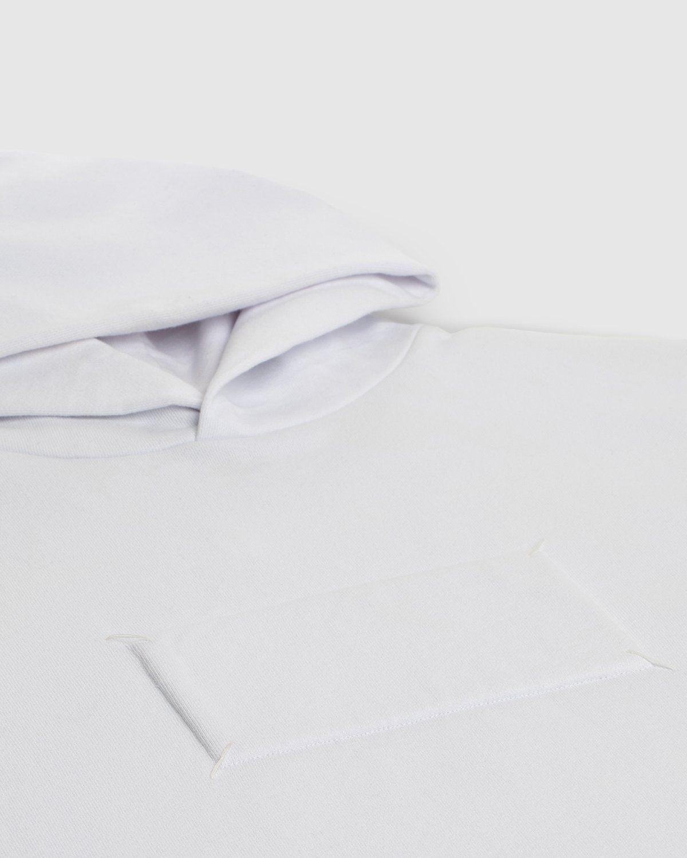 Maison Margiela Highsnobiety Hoodie White - Image 4