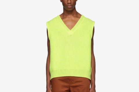 acne studios v neck sweater Gucci Maison Margiela doublet