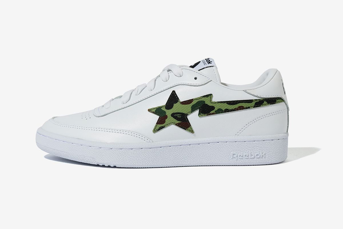 BAPE Turns Reebok's Club C Into the BAPE STA 22