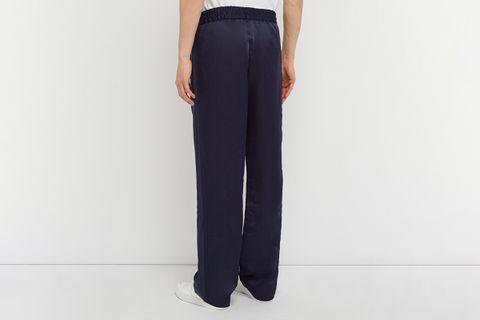 Break Silk Satin Trousers